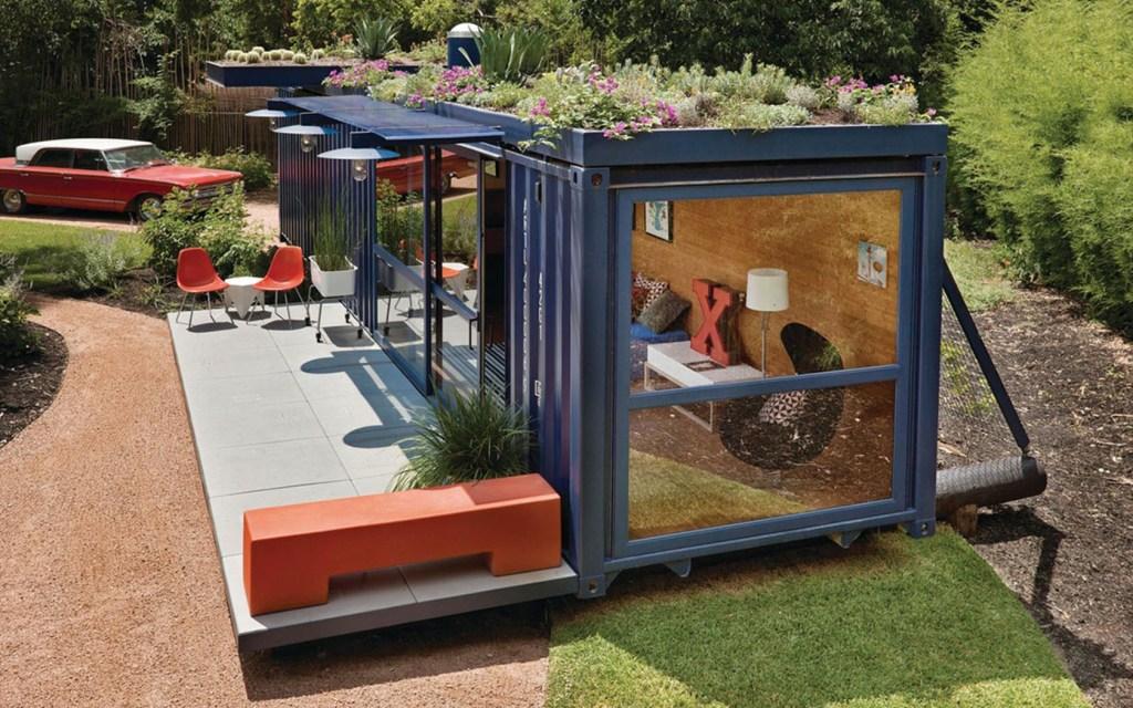 9 incríveis construções com containers