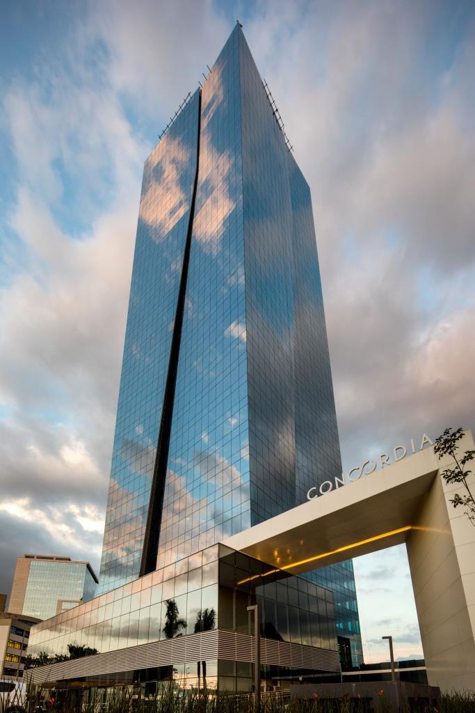 novidades na construção civil - concordia corporate tower