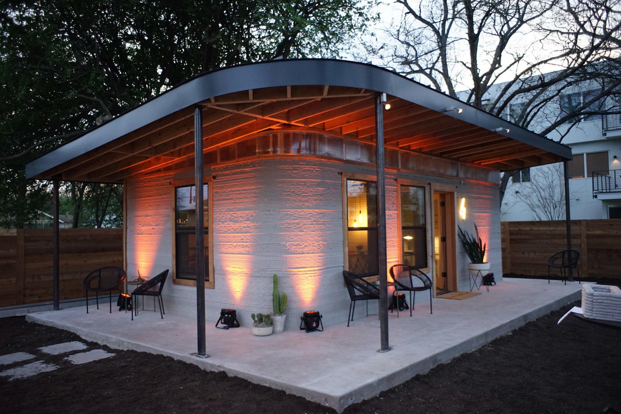 novidades na construção civil: casa construída em apenas 12 horas por impressora 3D