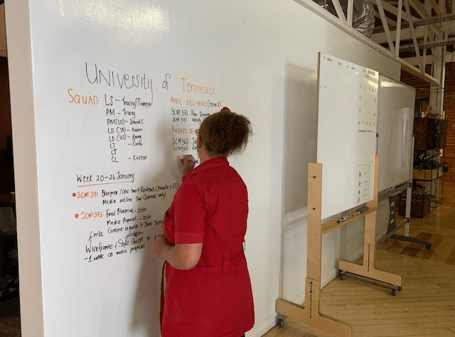 Mapping out the process and planning of building a course