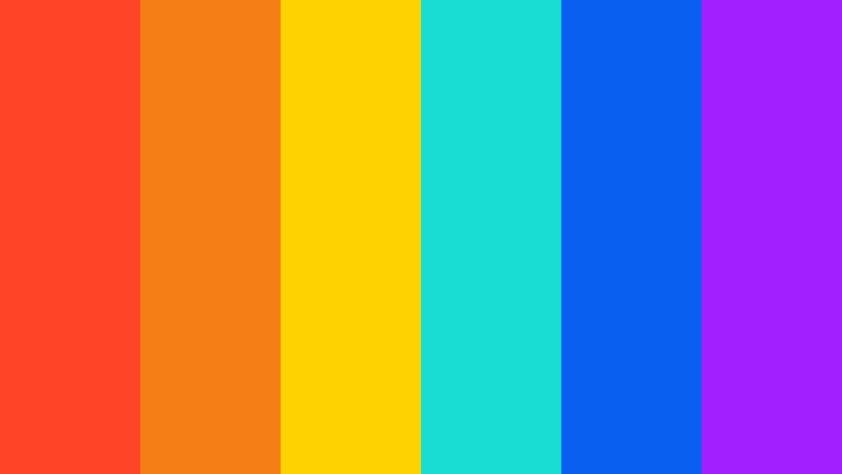 LGBT+ rainbow banner