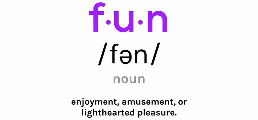 The word Fun, and its meaning