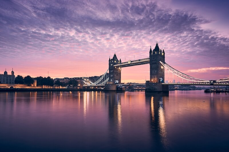 A picture of the London Bridge