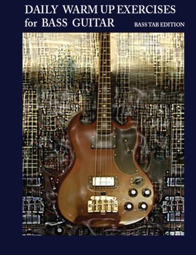 Bas tab exercises for bass guitar in 12 keys