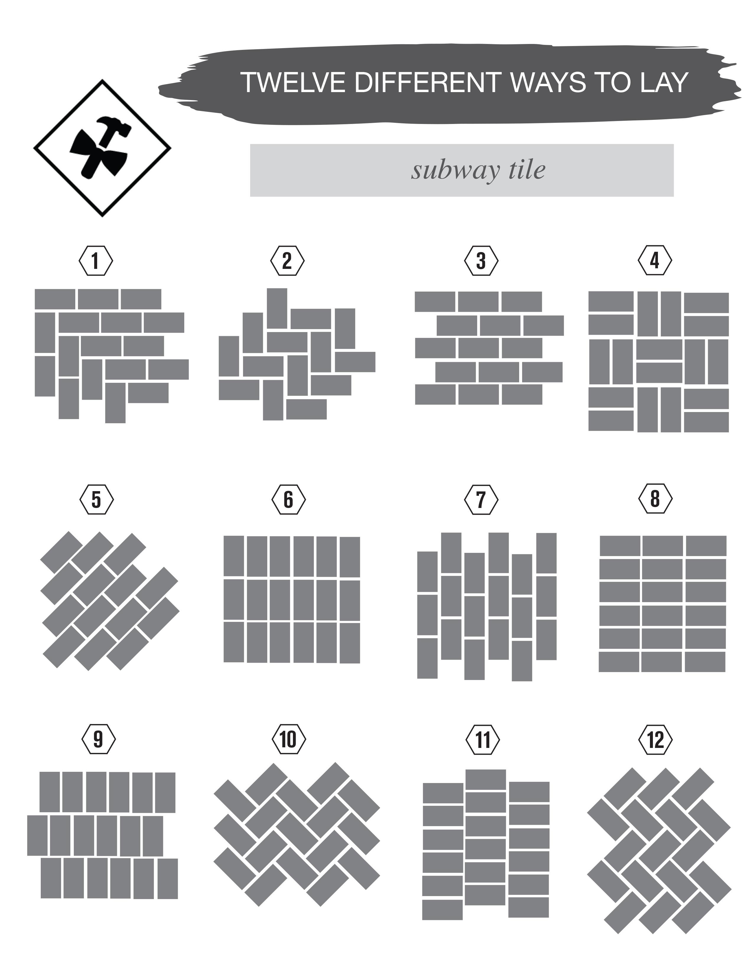 title | Subway Tile Patterns