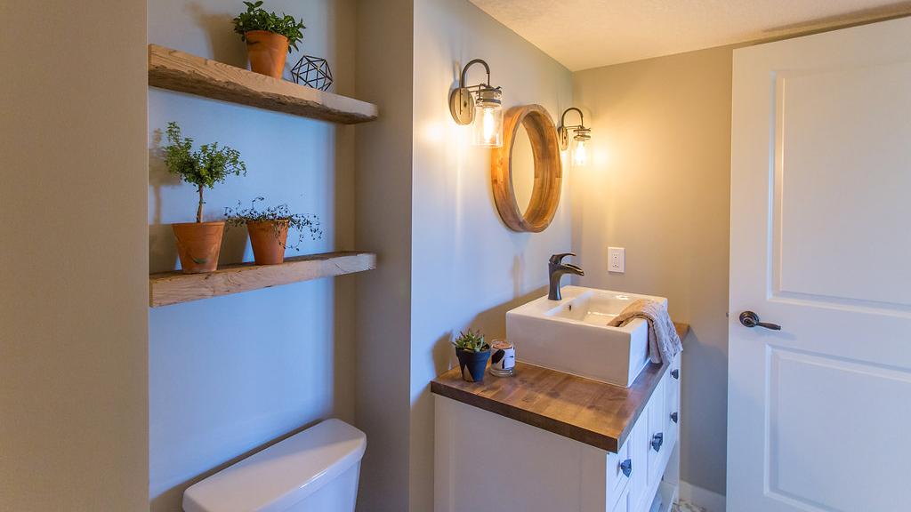 butcher block bathroom vanity easy 6