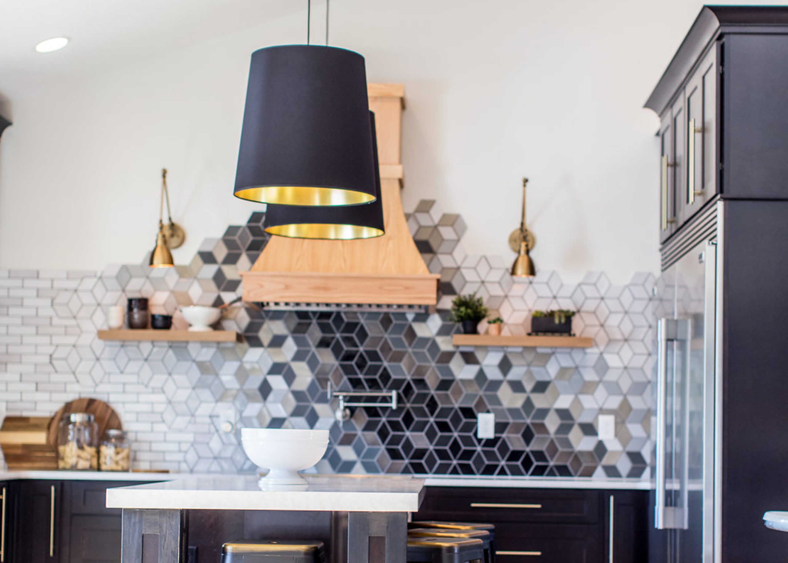 black and gold light fixture guide