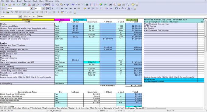 5 Methods of Calculating Quantities of Materials