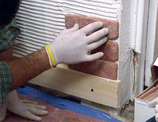 Some useful construction tips for installing brick cladding