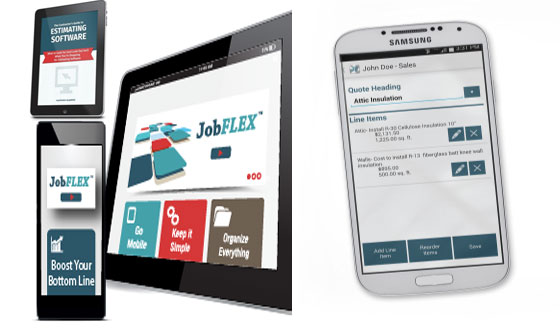 JobFLEX Pro is the next generation estimating app