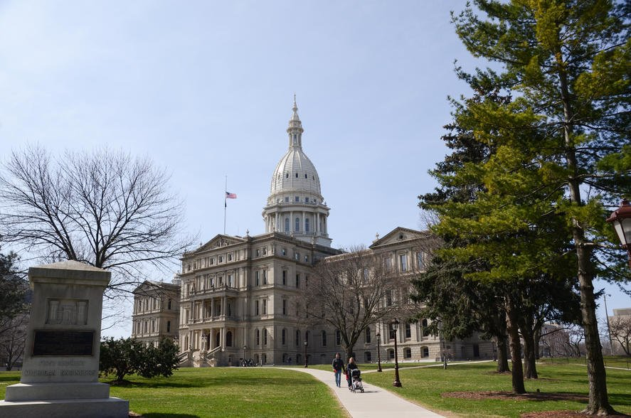 Michigan Lansing capitol J9HMN7