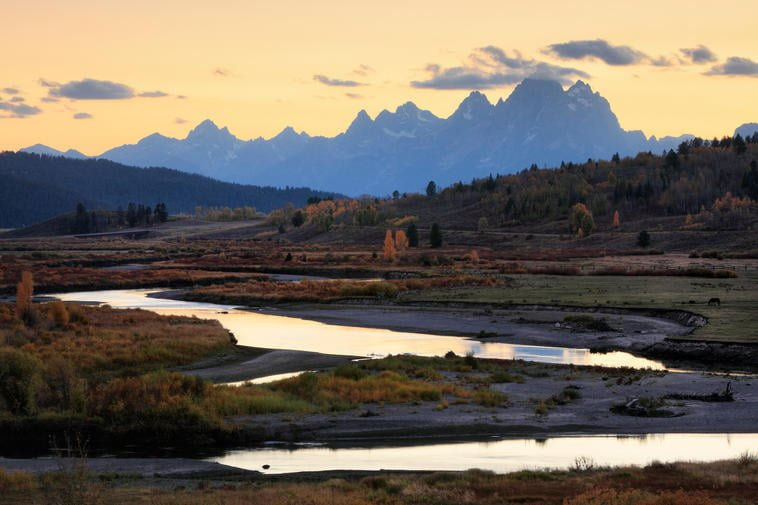 Wyoming Grand Teton E94J4T