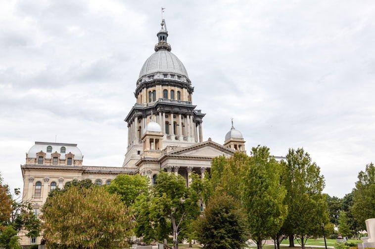 Illinois capitol DYN12C