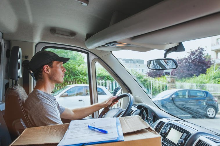 Delivery driver PE2T3J
