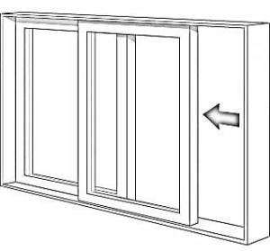 Illustration of Sliding (Gliding) Window