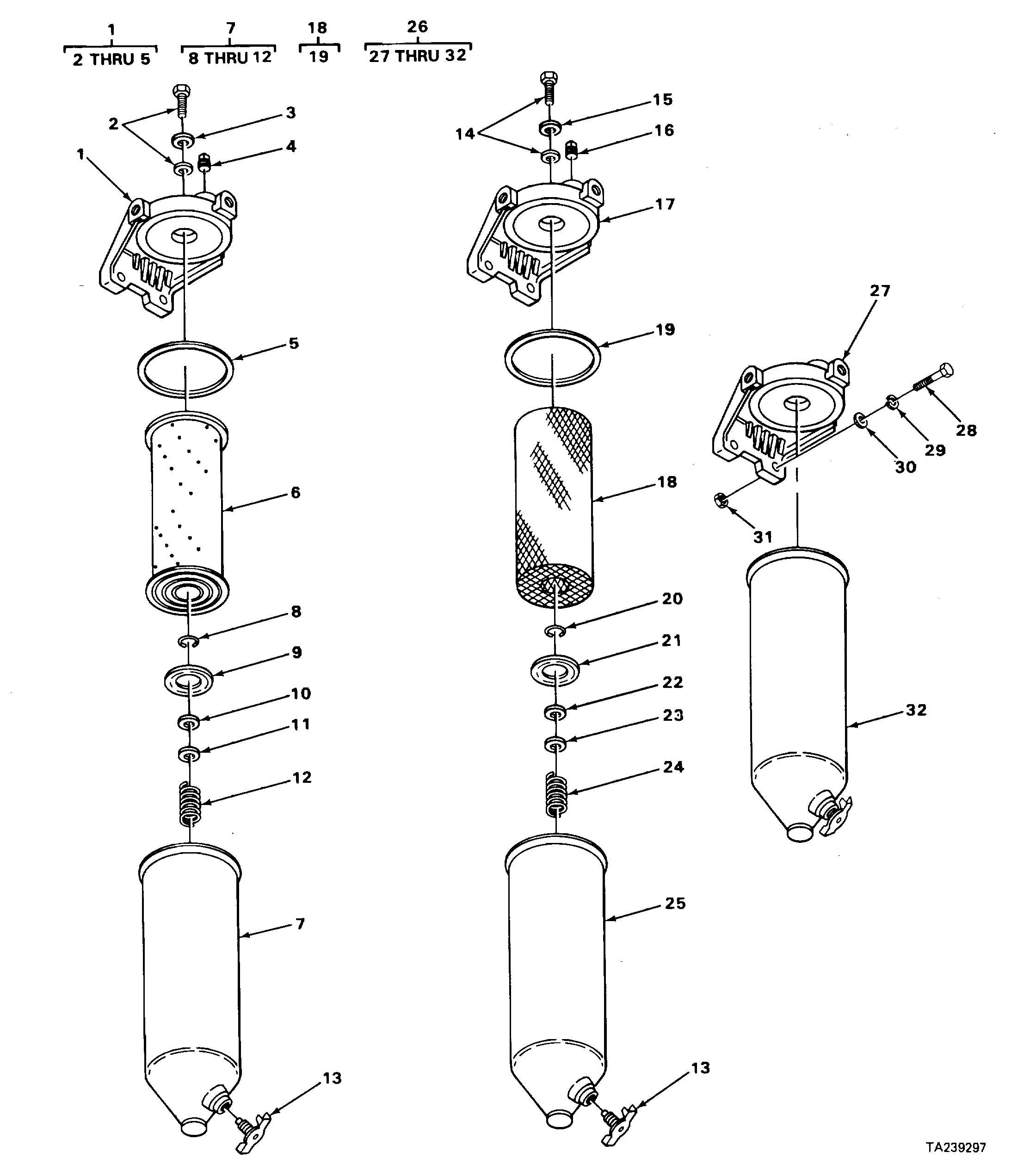 Figure 44 Fuel Filters And Strainer