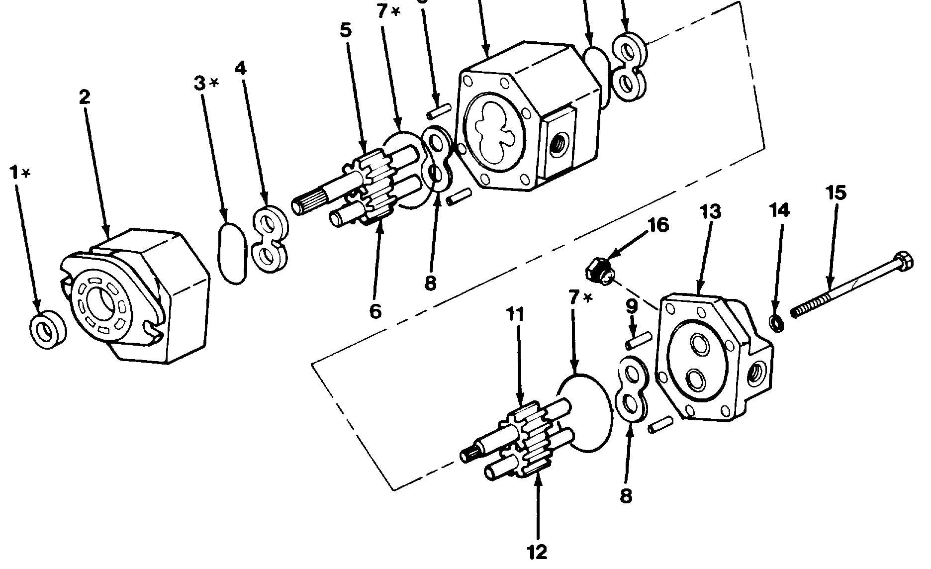 Figure 10 16 Main Hydraulic Pump