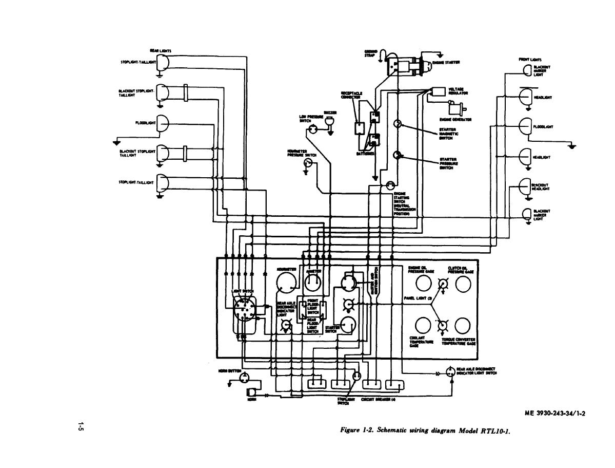 Figure 1 2 Schematic Wiring Diagram Model Rtl10 1