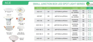 ACE | SMALL JUNCTION BOX LED SPOT LIGHT SERIES-ACE 607