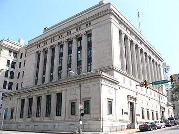 The Supreme Court of Virginia Building, adjace...