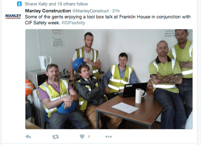 CIF Construction Safety Week 2016