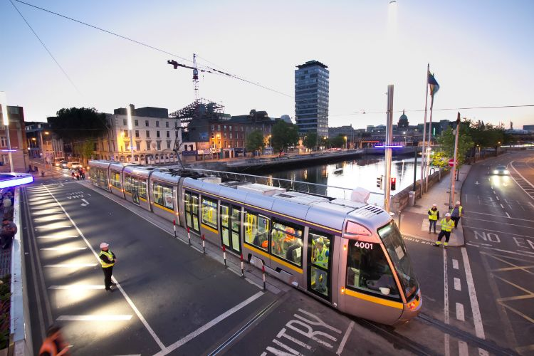 Luas Cross City John Sisk & Son