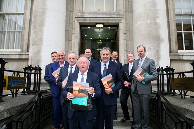 CIF delegation that met with Minister for Finance Pascal Donohoe TD to present the 2018 pre-budget submission