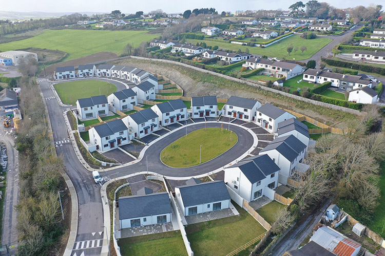 MMD Construction delivers 40 NZEB homes in Kinsale for Clúid Housing