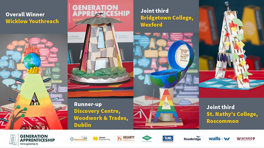 Wicklow Youthreach Wins Second-Level Generation Apprenticeship 2020 Competition