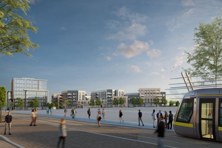 Ronan Group Real Estate receives planning approval at Town Centre 3 in Cherrywood