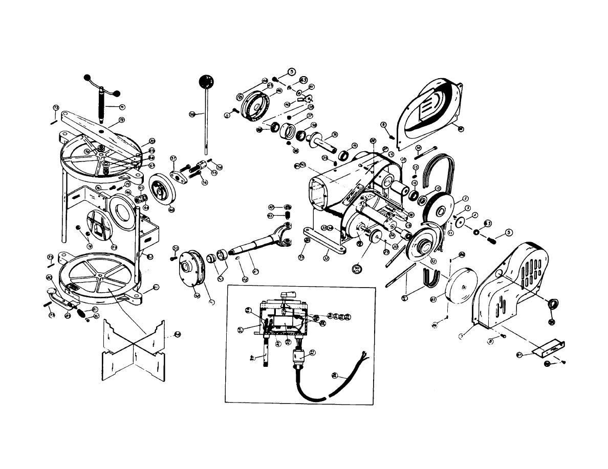 Diagram Of Parts For No