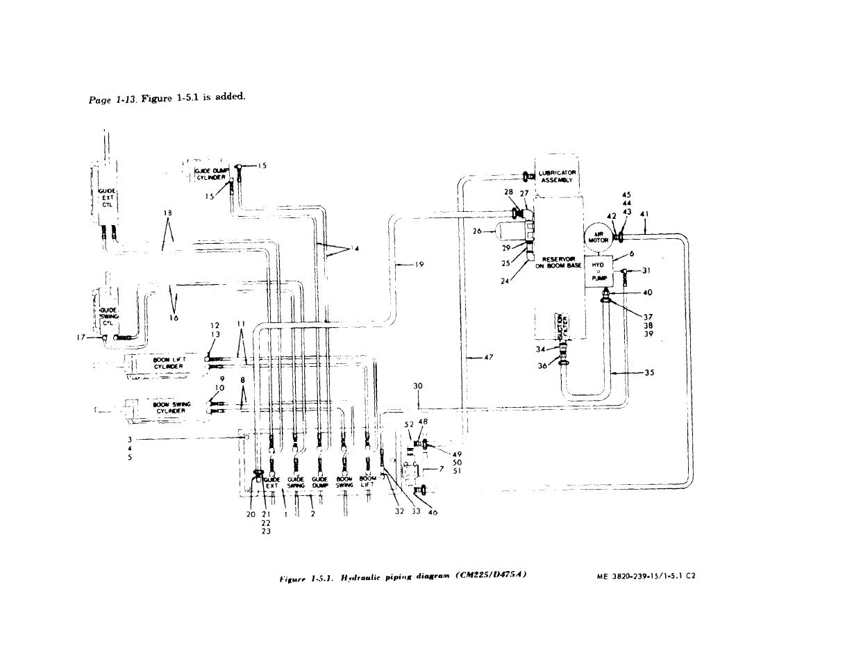 Figure 1 5 1 Hydraulic Piping Diagram