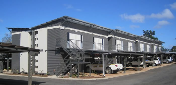 modular buildings for mining sites