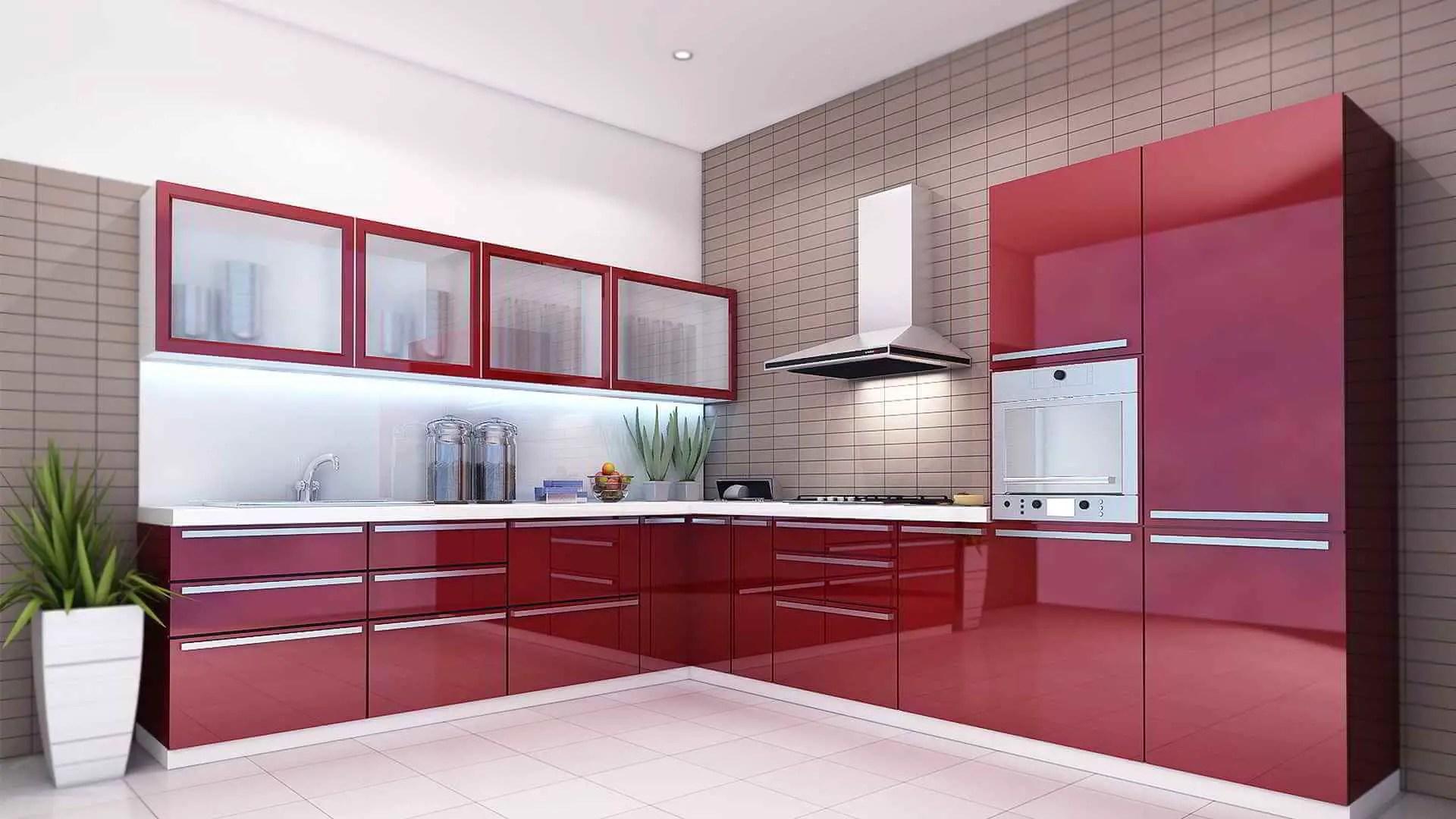 having a modern kitchen