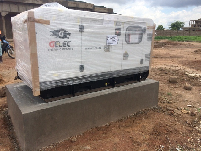 GELEC Energy installs generating set in Burkina Faso