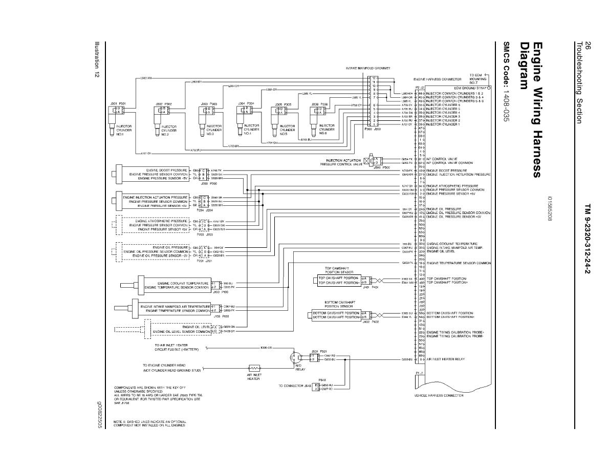 Engine Wiring Harness Diagram