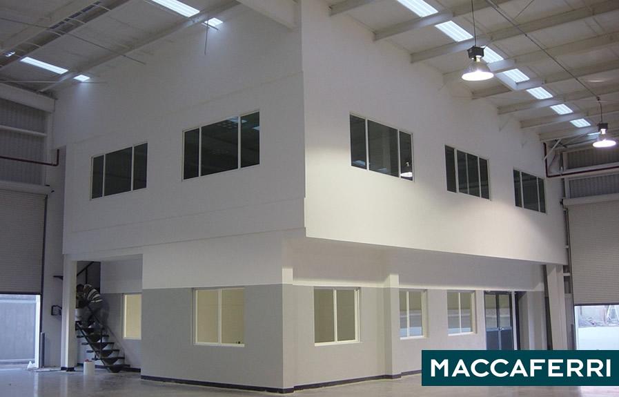 Construcción de oficinas en Querétaro – maccaferri