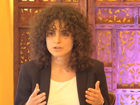 "Chiara Marletto in ""A Goldilocks World"" debate (HowTheLightGetsIn 2016)"