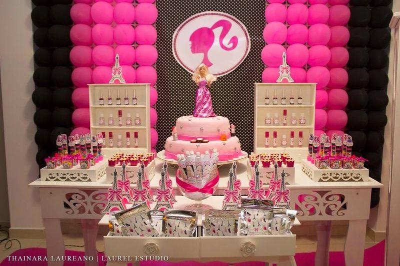 Ideias Diferentes Para Decorar A Festa Da Barbie Barbie Party