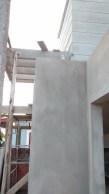 Porta de entrada vista pela lateral