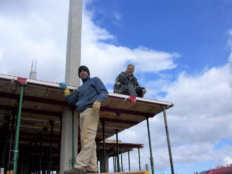 Formación de pilares