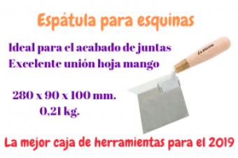 ESPÁTULA ESQUINERA