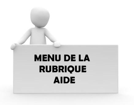 menu aide
