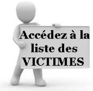 liste des victimes de AST