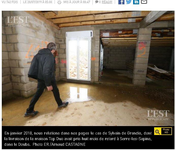 Victime de AST Sylvain De Grandis
