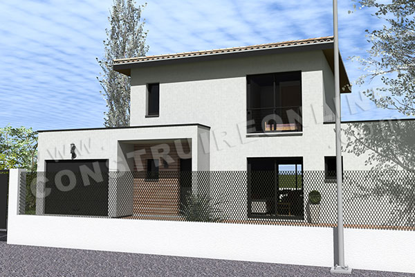 plan de maison permis de construire