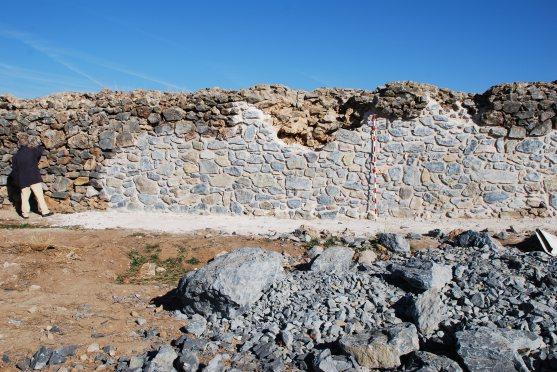 Rehabilitación de la presa romana 2015