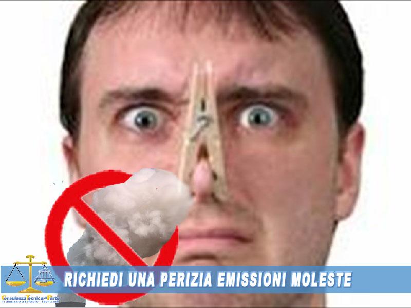 come denunciare odori molesti