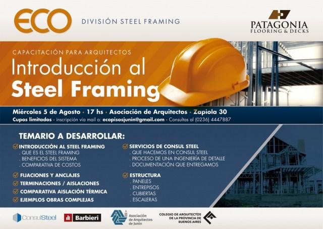 Eco - Capacitacion Steel Framing - internet