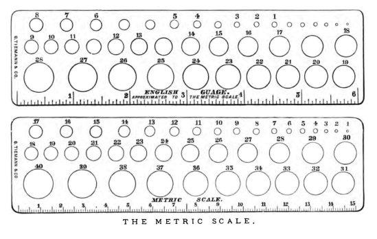 Escalas Calibre Sondas Otis_1878